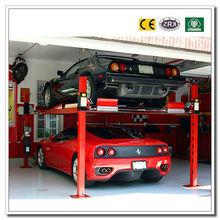 Four Post Car Mechanical Smart Parking Assist System Circular Elevator Intelligent Parking Equipment Parking System