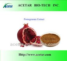 supply 100% Natural pomegranate peel extract Polyphenols 40%,50%,60% UV