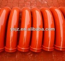Twin Layer DN125 Concrete Pump Pipe Elbows/Bends Jiuzhou Pipe Fitting Manufacturing Co,Ltd
