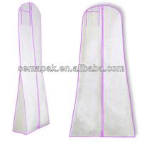 new design colorful non woven dress bag packaging&dress storage bag&dress garment bag