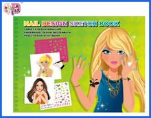 cute and fresh design sketch book for children