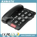 preto botões grandes função básica de telefone do hotel conjunto