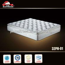 5 Star hotel natural latex bed mattress, Hilton hotel mattress bed