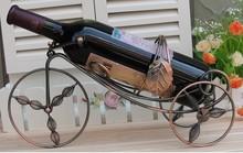 metal wine rack/holder wine shelf morden display metal hourse furniture home furnishings artifact &Artwork crafts&artwork
