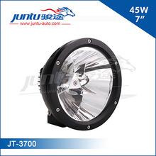 Juntu automobile high quality 12v 7inch round head lamp for FJ, SUV, trucks