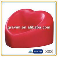 Red heart cellphone holder stress ball