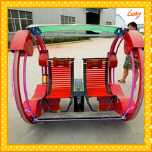 Amusement park kiddie rides car for sales/outdoor playground car rides/ investment amusement park rides happy rotating car