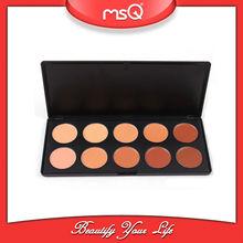 MSQ 10 Color Facial Concealer Cream Palette for Makeup