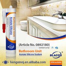 10 Year Guarantee Non Yellowing Fast Curing Anti-Mildew Silicone Based Bathroom Caulk