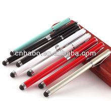 Habo hot sell ballpoint pen printer metal pen clips souvenir pen 9043-1