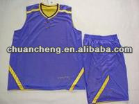 Good Quality Polyester Basketball Wear