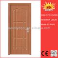 interior hdf pvc acordeón puerta plegable