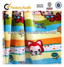 microfiber baby/children/adults animal popular wholesale coral fleece blanket