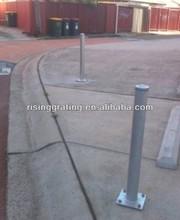 Industrial Round Baseplate bollards