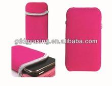 Mobile Phone Neoprene Sleeve / Neoprene Phone Pouch / Neoprene Cell Phone Sleeve