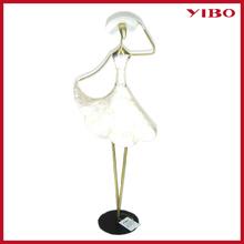 """21.2"""" kabuklu kız heykelcik ferforje düğün süslemeleri"""