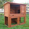 Wooden pet product rabbit cage with tray RH039