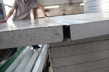 EPS/polystyrene foam sandwich panel wanted for villas/prefab house