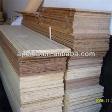 FD-201548 Natural carbonized solid cheap horizontal waterproof bamboo flooring