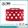 plain black cosmetic bag travel hanging with best quality toiletry bag for good sales