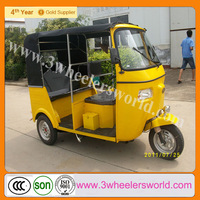China passenger bajaj pulsar spare parts/scooter taxi / vente auto rickshaw for sale