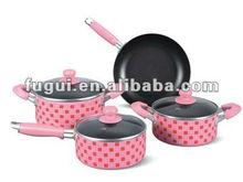 Aluminum Non-stick Cooking Pot Set