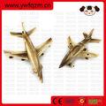 Aeroplano de madera artesanías modelo
