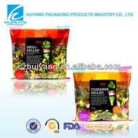 Attactive!!Vegetable packaging design plastic bag printing