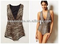 2014 xxxl open hot sex girl one piece swimwear