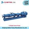 G triple screw pump