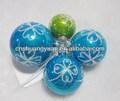 promocionais de plástico pendurado bola de natal