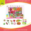 Plastic toys fruits and vegetable