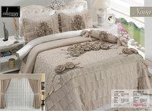 Nova cappuccino bedspreads curtain