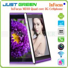 InFocus M310 quad core 4.7inch cellphone dual SIM china mobile phones