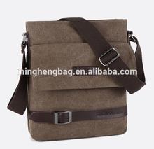 classic shoulder canvas man bags & new design canvas men bag