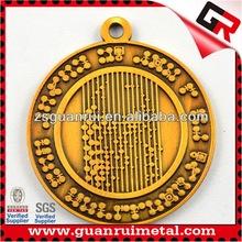Newest low price popular metal medals