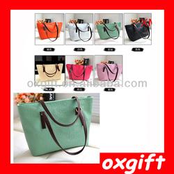 OXGIFT 2014 Latest Fashion Women Bags,Ladies Summer Shoulder Candy Color Bags TJX001