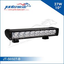 "Auto lighting system 12v car single stack 10"" 27w CREE led light bar, car accessory"