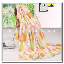 Super soft cheap wholesale fleece fabric for pram blanket flannel blanket