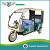 with cloth fiber roof piaggio three wheeler
