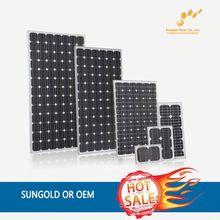 OEM monocrystalline silicon solar panel 120w --- Factory direct sale
