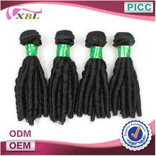 XBL 5A+Double Layers Short Inch Malaysian Human Hair Wavy