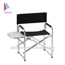 GXD-002 camping foldable director chair with folding side table