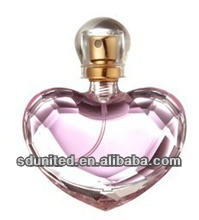 15ml Heart Shape Glass Perfume Bottle Wholesale