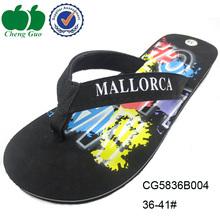 promotional platform custom printed flip flops