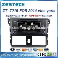 ZESTECH Automobiles car dvd player with gps radio for toyota yaris car dvd