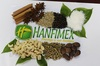 Vietnam spices and seasoning, black pepper, cassia, star anise