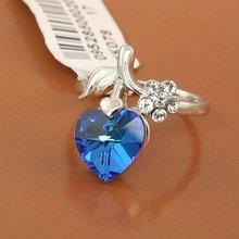 (062599) 2012 fashion Princess Diana Engagement Sapphire jewelry Ring