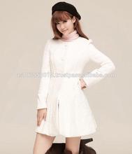 W036 Hot New Korean Women's Lace Slim Fit Coat Outwear Windbreaker