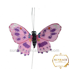 large wedding feather butterfly decorations